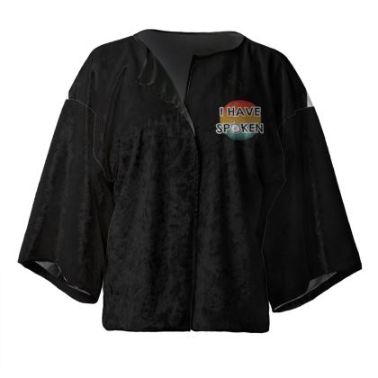 Kimono Jacket - I have Spoken 1