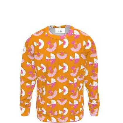 Playground Sweatshirt in Orange