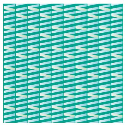 Zig My Zag Espadrilles in City Green