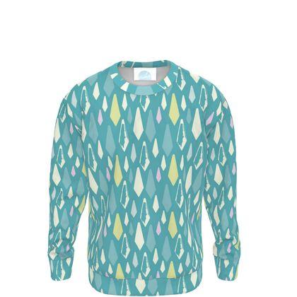 Kristalli Sweatshirt in Blue