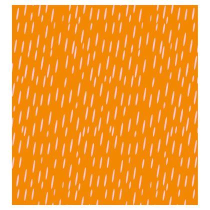 Raining Opportunities Skater Dress in Orange