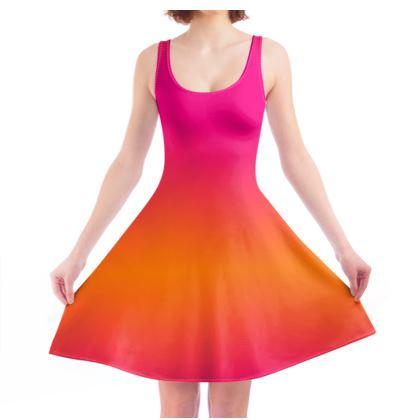 Skater Dress- Emmeline Anne Summer Blush