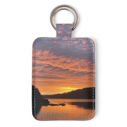 Keyring - Ferry Boat Sunrise