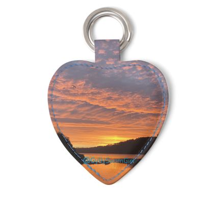Key Ring - Ferry Boat Sunrise