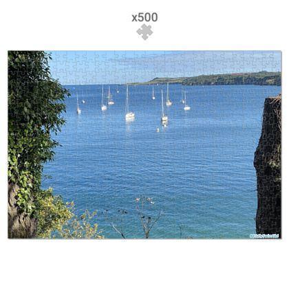 Jigsaw - Summer on the Helford 500 piece, in Presentation Tin