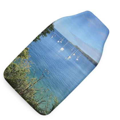Hot Water Bottle Cover - Summer on the Helford