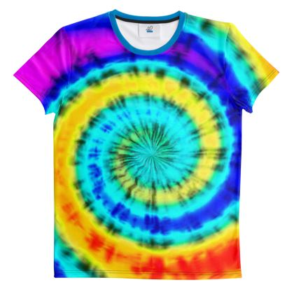 Cut And Sew All Over Print T Shirt 30