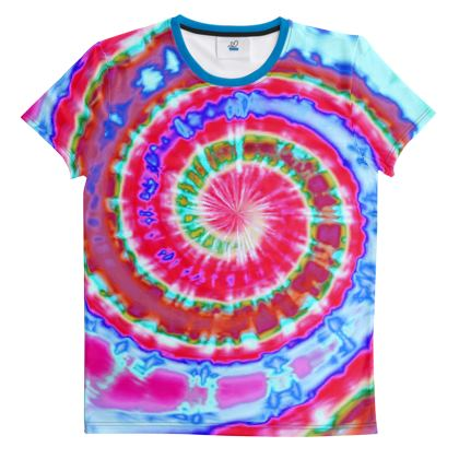 Cut And Sew All Over Print T Shirt 31
