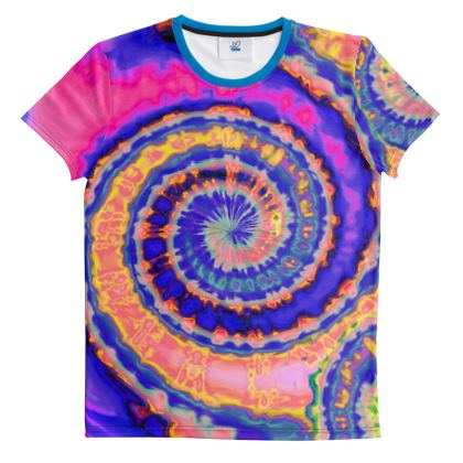 Cut And Sew All Over Print T Shirt 32