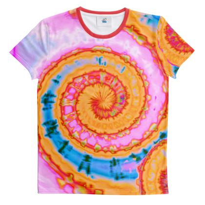 Cut And Sew All Over Print T Shirt 33