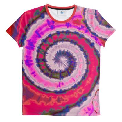 Cut And Sew All Over Print T Shirt 34