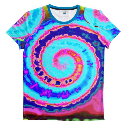 Cut And Sew All Over Print T Shirt 36