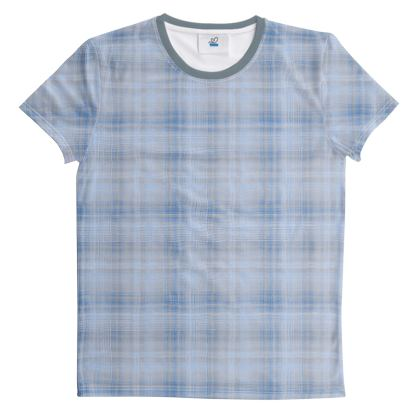 ut And Sew All Over Print T Shirt Plaid 4