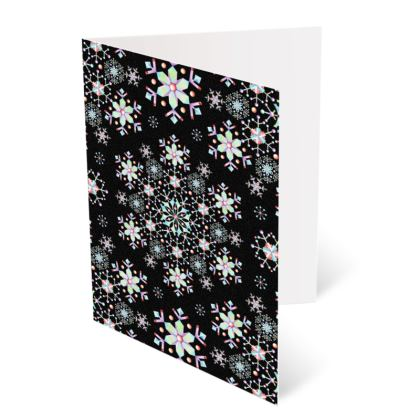 Snowflake Lace A6 Greetings card Packs