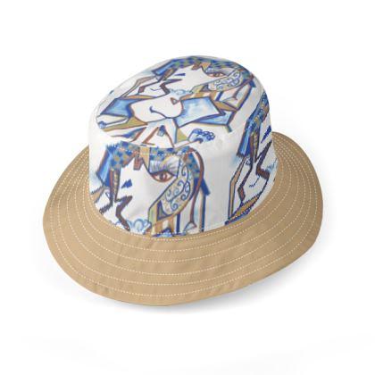 Wide Brim Bucket Hat Dotty May