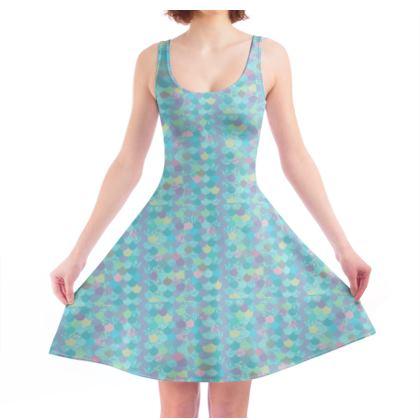 Skater Dress- Emmeline Anne Sparkly Shells
