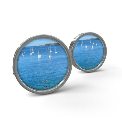 Cuff Links - Summer on the Helford