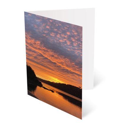 Helford Views A6 Greetings Cards - 4 pack