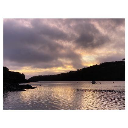 Helford Moody Morning skies