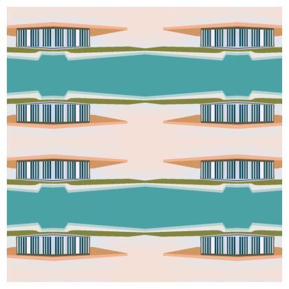 Peach House Luxury Cushion