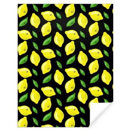 'Just Lemon Know' Gift Wrap