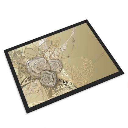 Large Door Mat - Stor Dörrmatta - 50 Shades of Lace Gold