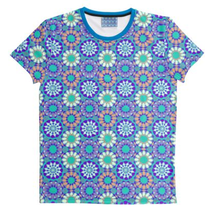 Cut And Sew All Over Print T Shirt 37