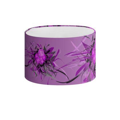 Drum Lamp Shade - Lampskärm - Lilac lila