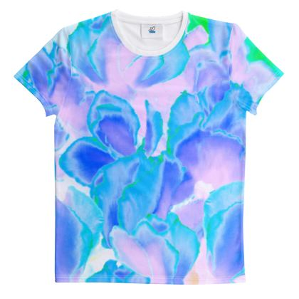 Cut And Sew All Over Print T Shirt 58