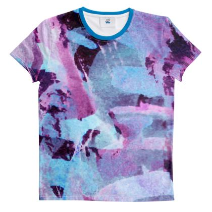 Cut And Sew All Over Print T Shirt 39