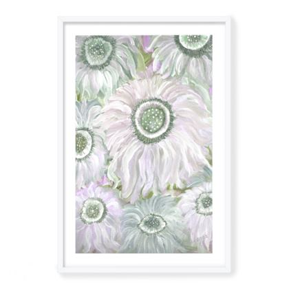 Framed Giclee Print Fantasia Pink