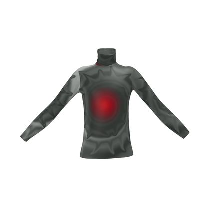 Mens Slim Fit Roll Neck - Android Nucleus
