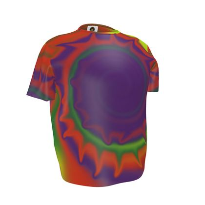 Mens T-Shirt - Colourful Spiked Ball
