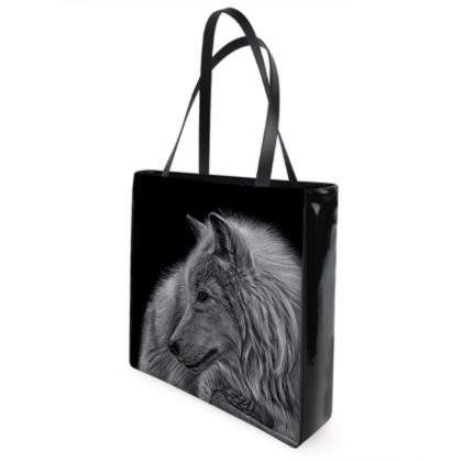 Winter is Coming - White Wolf Shopper Bags