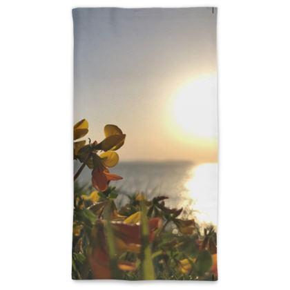 Bream Cove Flowers in the sunrise Neck Gaiter