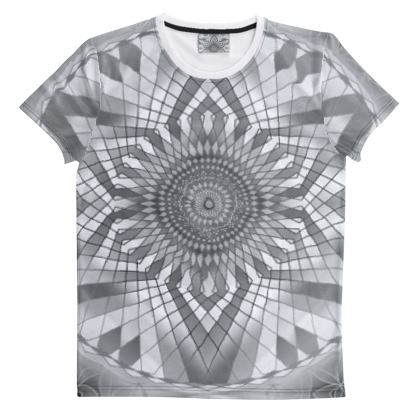 Cut And Sew All Over Print T Shirt 47