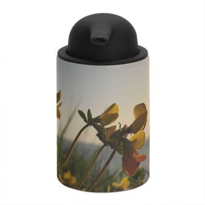 Bream Cove Flowers in the sunrise Soap Dispenser