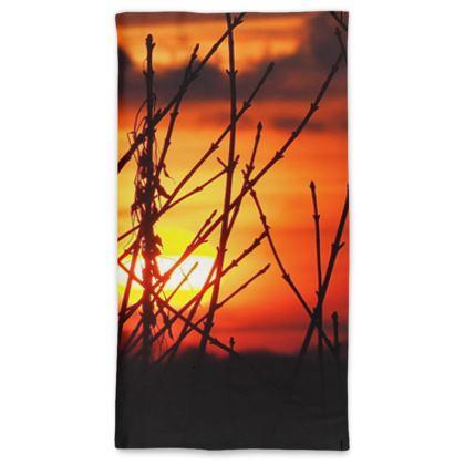 January Sunset Neck Gaiter