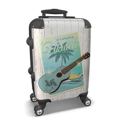 Suitcase Good Vibes and Ukulele
