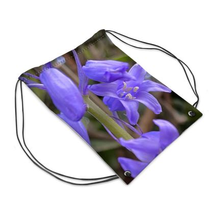 Bluebells on the Coastpath Swim Bag