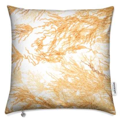 Flossie Reversible Noir Flowing Cushion