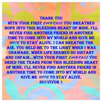 Thanking a Friend © Survivor 1