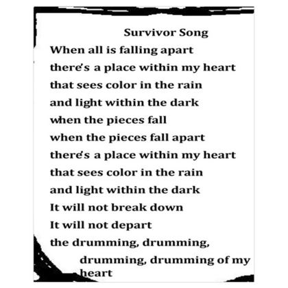 Positivity Poem © Survivor 1