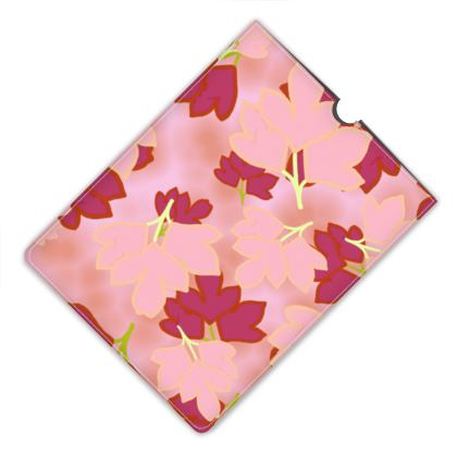 Leather I Pad Mini Case Pink, Red  Oriental Leaves  Fruit Smoothie, Snowflake