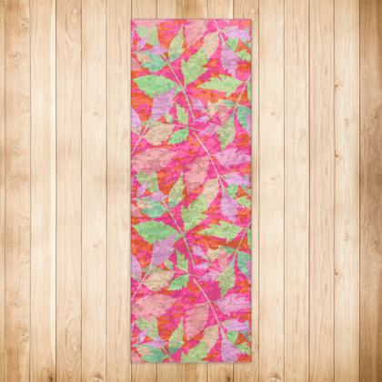 Rugs Pink, Orange  Cathedral Leaves  Trifle