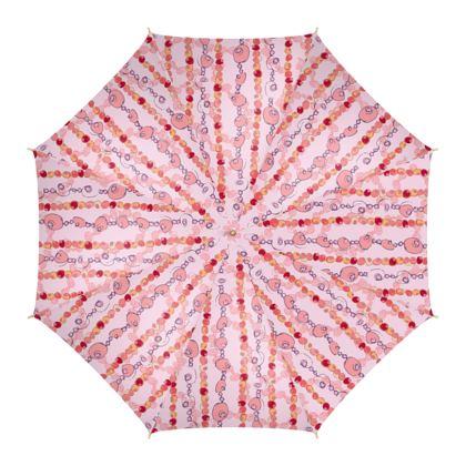 Luxury Bead Collection - Umbrella (Pink)