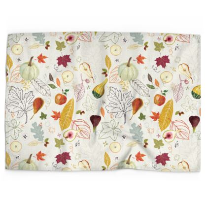 Harvest CollectionTea Towels by Lucinda Kidney