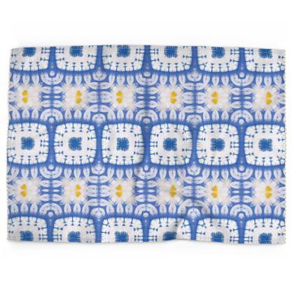 Tea Towels, Abstract Daisies