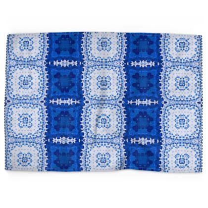 Tea Towels, Greek Island Blues Design