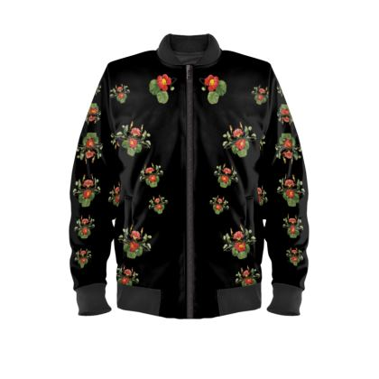 Toucan Love Ladies Bomber Jacket